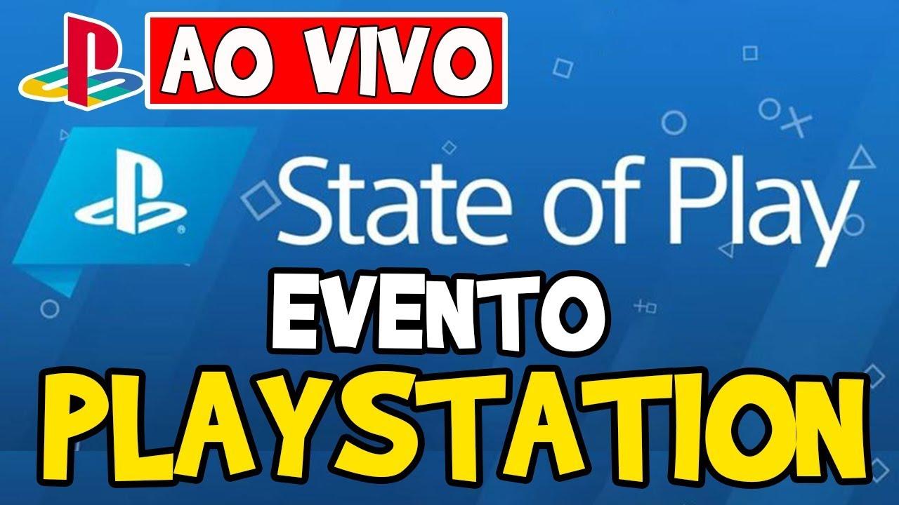 AO VIVO! EVENTO DE JOGOS DE PS4/PS5 E VR! 17:00