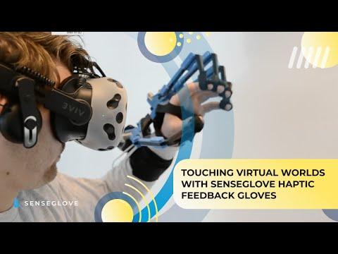 Sense Glove, touching the virtual world.