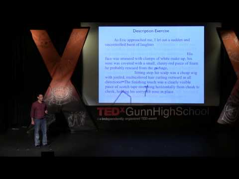 Why schools need technology to teach writing: Jeff Scheur at TEDxGunnHighSchool