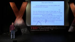 Why schools need technology to teach writing: Jeff Scheur at TEDxGunnHighSchool