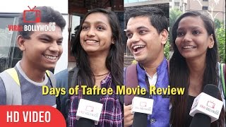 Days of Tafree Movie Review | First Day First Show | Viralbollywood