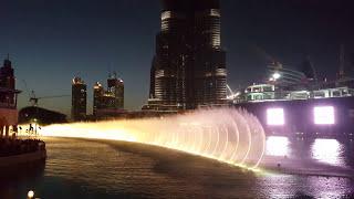 Dubai Fountain Show | 4K UHD | Arabic
