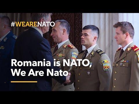 Romania is NATO, We Are NATO - #WeAreNATO