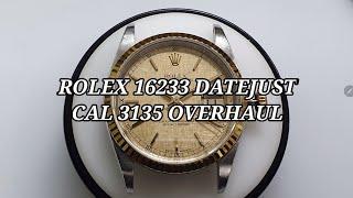 [명품시계수리] 롤렉스 16233 데이저스트 시계수리 …