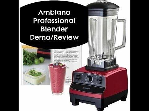 aldi ambiano professional blender recipes demo   youtube  rh   youtube com