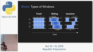 Stream Processing Fundamentals with Apache Beam - PyCon SG 2019
