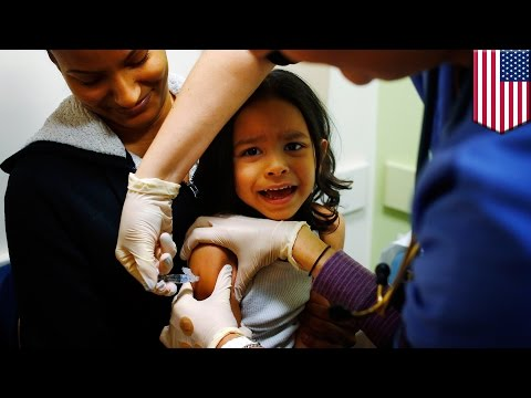 US Measles epidemic caused by anti-vaccination movement