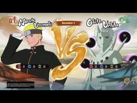 Naruto Shippuden Ultimate Ninja Storm 4 | Naruto (Last) Vs Obito (10 Code)