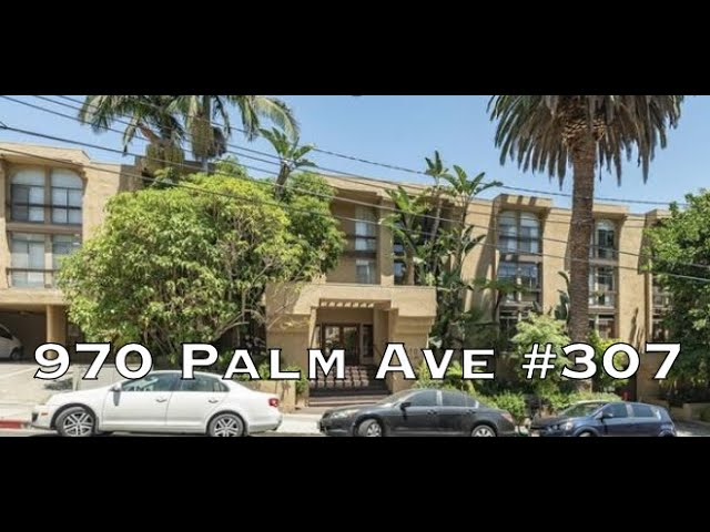 970 Palm Ave #307, West Hollywood CA 90069
