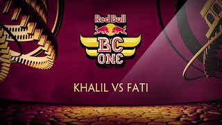Khalil vs Fati - Red Bull BC One France Cypher 2015 by OckeFilms