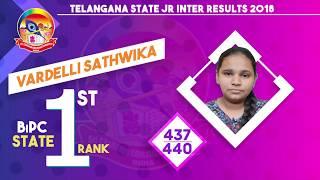 Sri Chaitanya Educational Institutions   Intermediate First Year Results