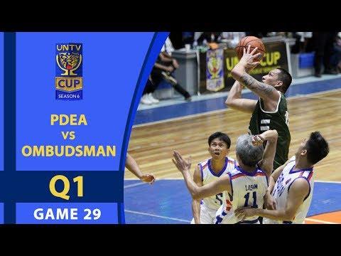UNTV Cup 6: Ombudsman vs PDEA — Q1