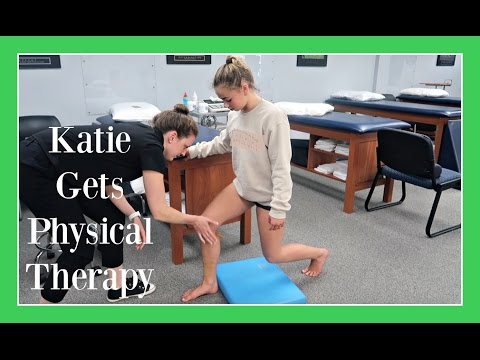 OUTSIDE THE GYM: PHYSICAL THERAPY | Flippin' Katie