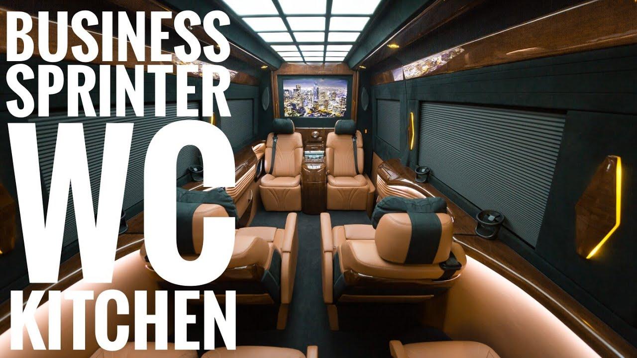 Luxury Private Mercedes Sprinter (WC, Kitchen)
