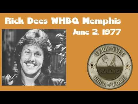 Rick Dees WHBQ Memphis June 2, 1977