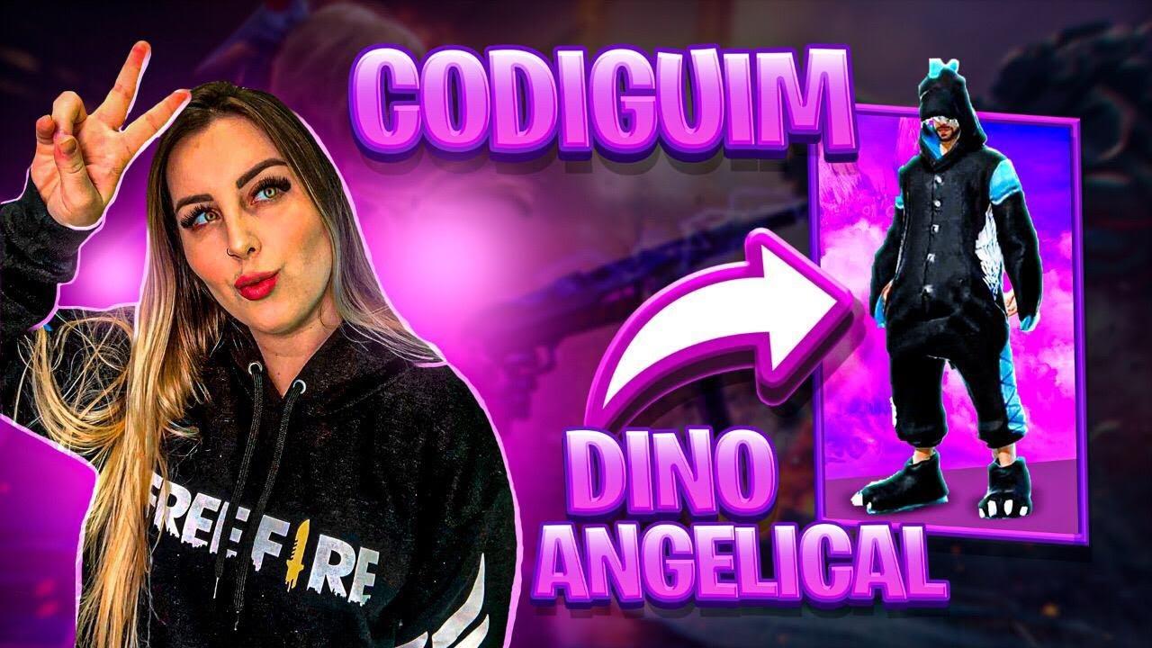 🔥 novo dino angelical 🔥 free fire ao vivo 🔥  youtube