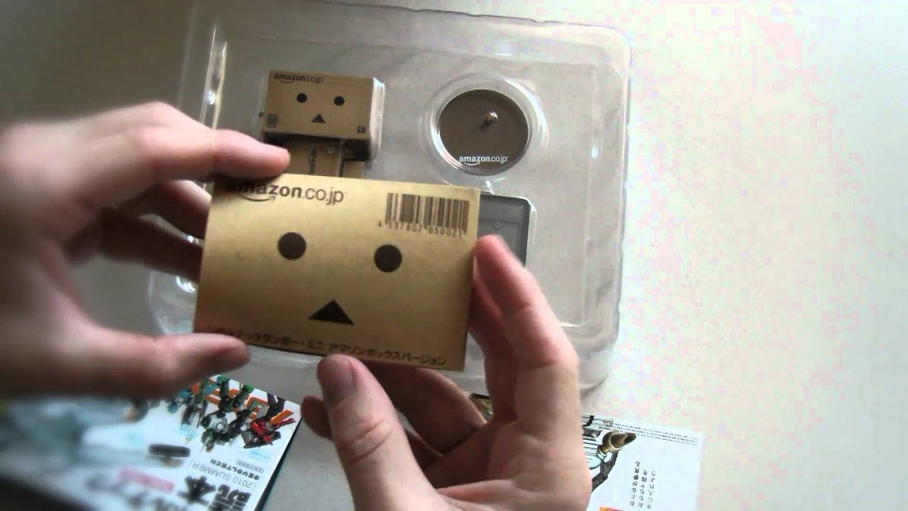 Cute Amazon Box Robot Wallpaper Unboxing Of Danboard Danbo Mini Amazon Co Jp Youtube
