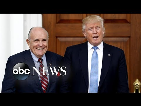 Trump adds former NY Mayor Rudy Giuliani to his legal team