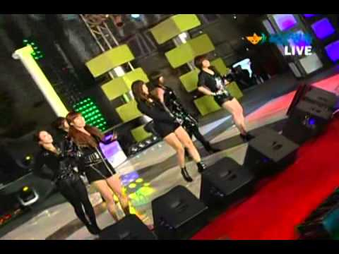 [Live] 100930 T-ara - I'm Really Hurt @ Armed Forces Broadcasting [3]