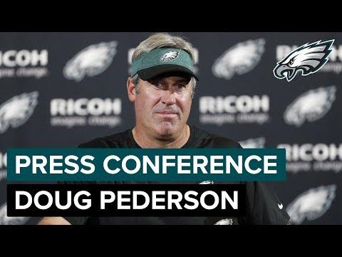 Doug Pederson Talks Carson Wentz, DeSean Jackson, & More | Eagles Press Conference