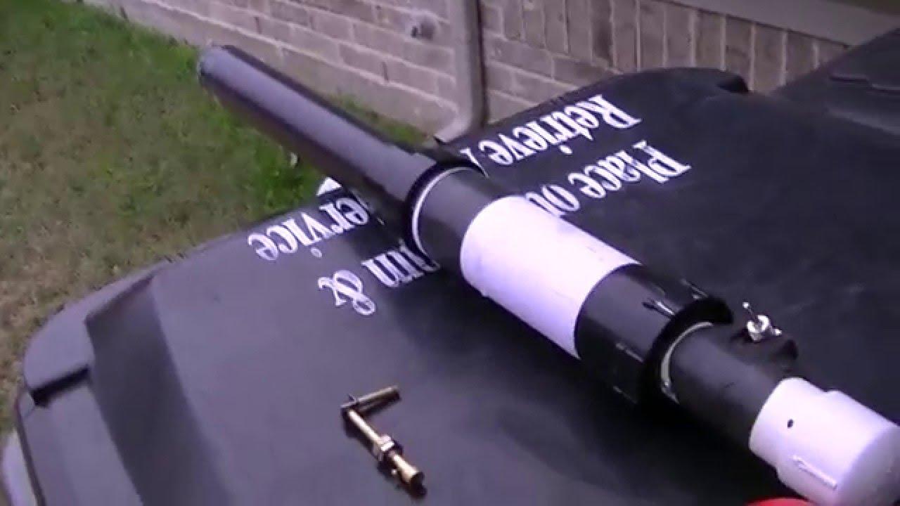 1 4 Mile Cannon Potato Gun Ignition Modification Youtube