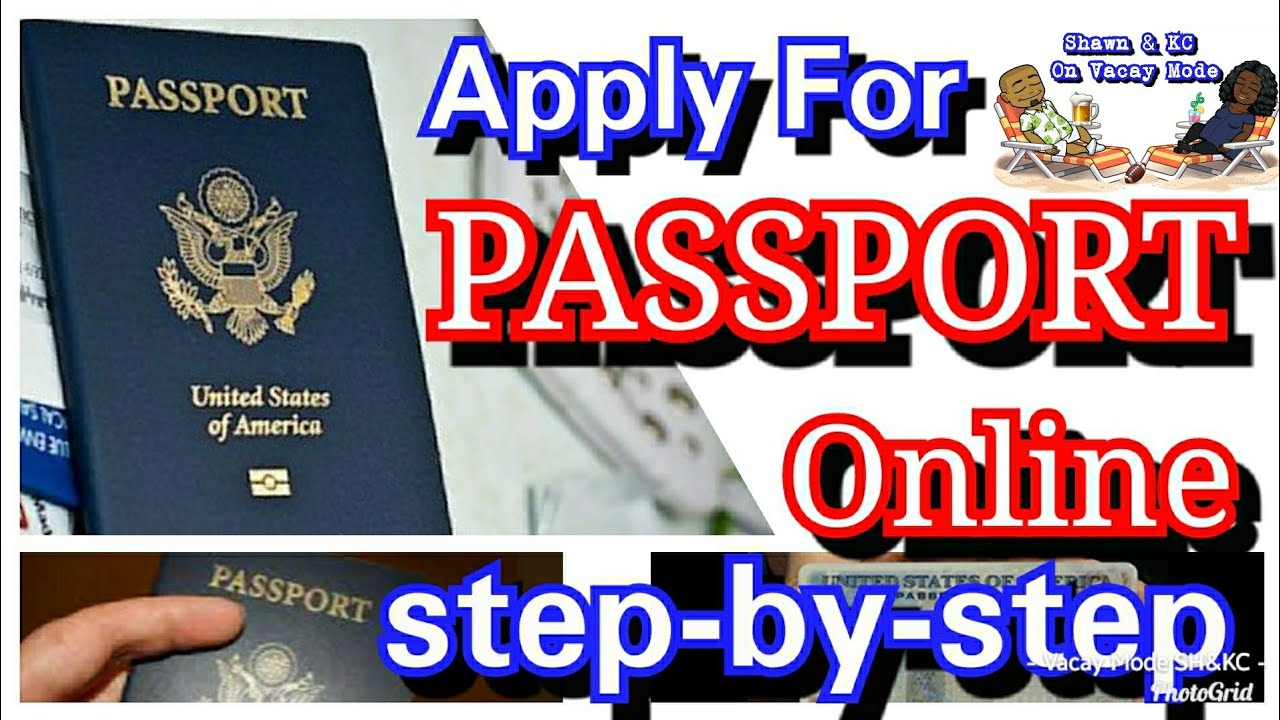 How to Apply Online For NEW or Renewal Passport Step by Step by FedEx  Application