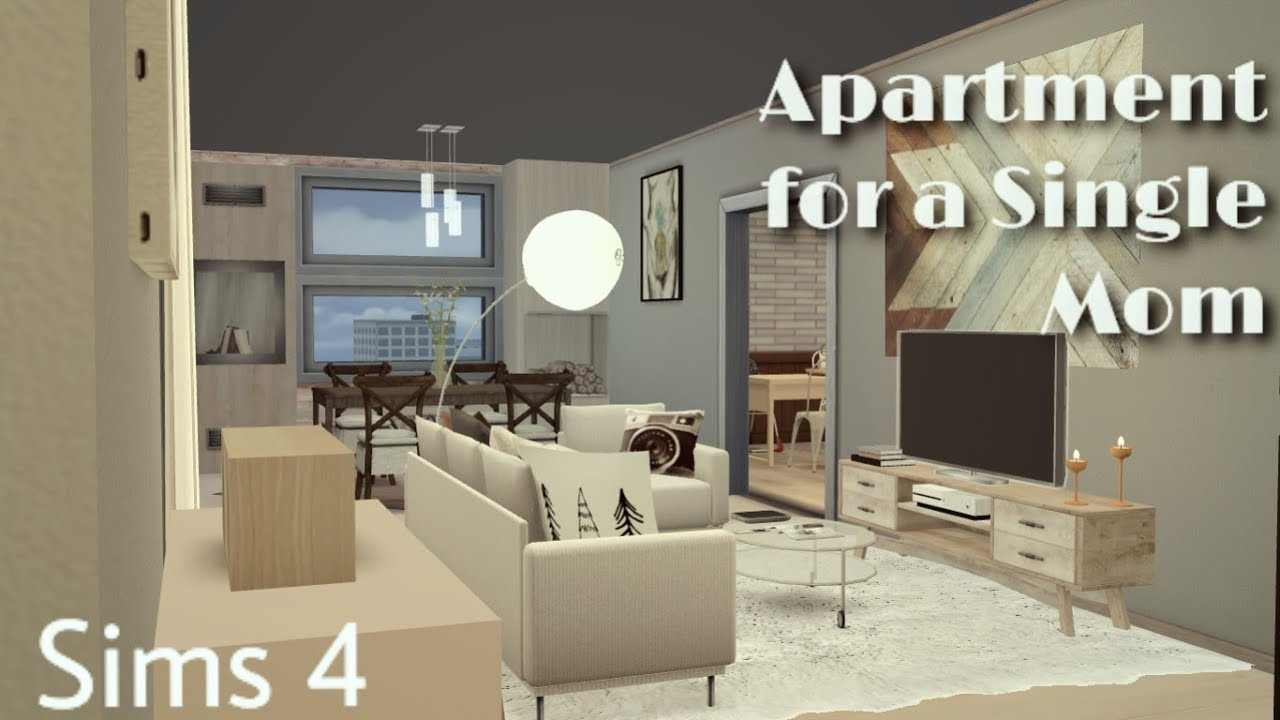 The Sims 4 Single Mom Apartment Sd Build By Sims4life