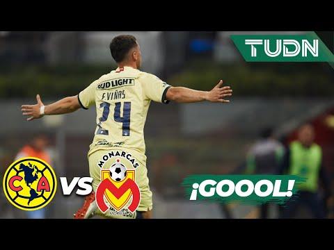¡Goool de las Águilas! Gran cabezazo de Viñas | América 2 - 0 Morelia | Liga Mx AP19 Semifinal |TUDN