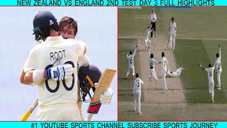New Zealand Vs England 2nd Test Day 3 2019 Full Highlights