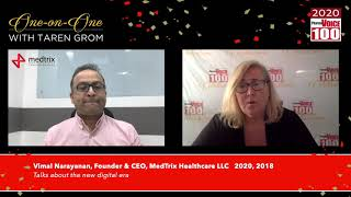 Vimal Narayanan, MedTrix Healthcare LLC – 2020 PharmaVOICE 100 Celebration