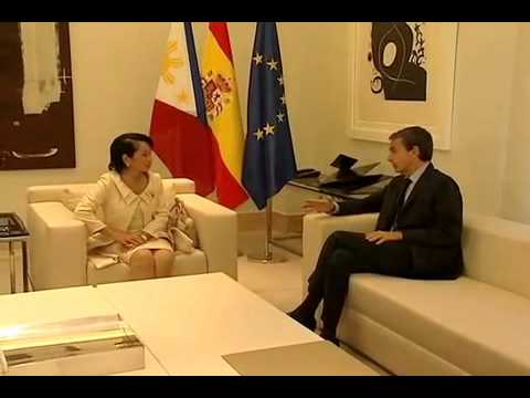 Bilateral Meeting with Pres. Jose Luis Rodriguez Zapatero of Spain