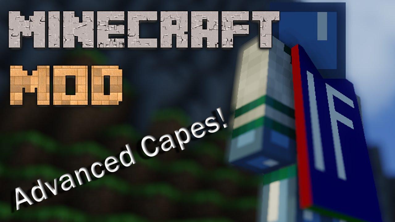 1 7 10+] Advanced Capes mod (664000+ Downloads!) - Minecraft