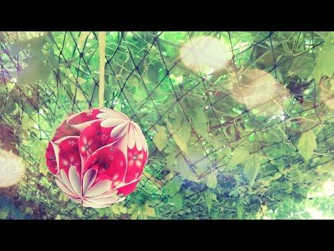 DIY - Làm quả cầu hoa bằng giấy đơn giản