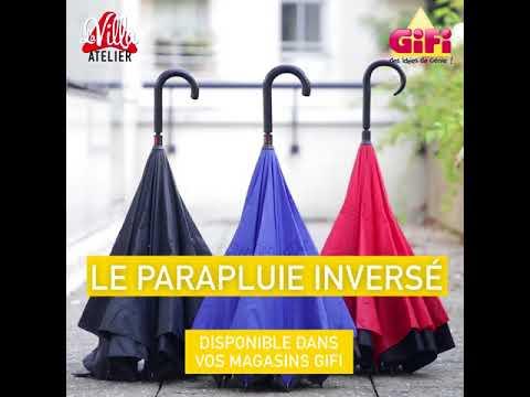 nouveau style 40bce b01b0 Parapluie inversé   GiFi