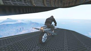 MISIÓN FINAL!! EL SALTO DEFINITIVO! - GTA 5 ONLINE - DLC TRAFICO DE ARMAS (GUNRUNNING)