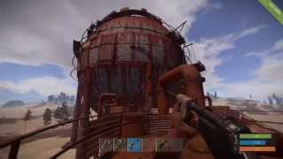 Rust : Oil Refinery Landmark Tutorial