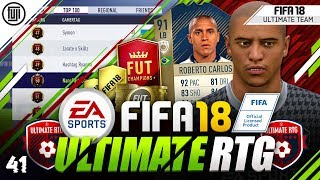 TOP 100 IN THE WORLD!!! FIFA 18 ULTIMATE ROAD TO GLORY! #41 - #FIFA18 Ultimate Team