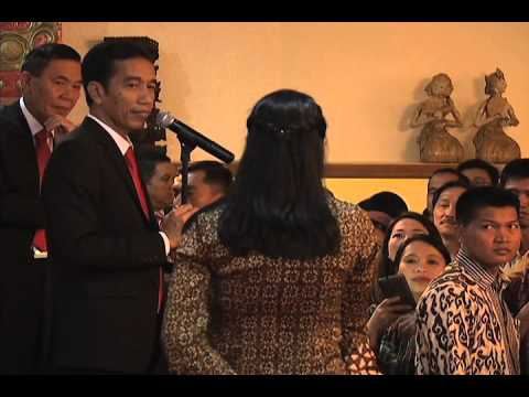 Indonesian President Joko Widodo - Meeting with Indonesian Community 2/9/2015