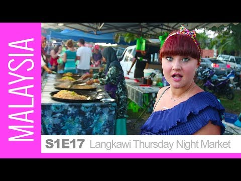 CHEAP & DELICIOUS - Night Market. BEST Local Food in Langkawi, Malaysia