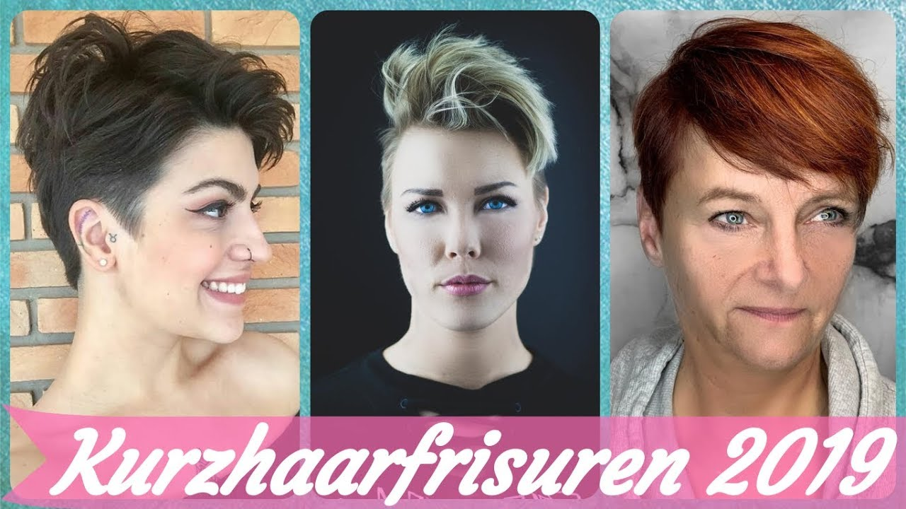 Trend Kurzhaarfrisuren 26 Frech Youtube