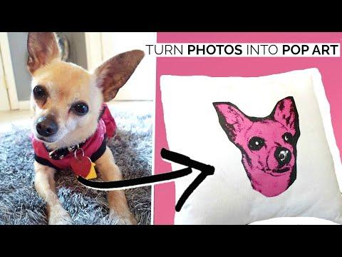 How To: Custom Pop Art On Picmonkey / Cheap+easy Home