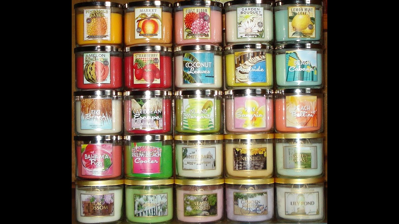 Beste Duftkerzen Bath And Body Works White Barn Candle Haul Review 2013