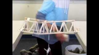 Balsa Bridge Competition - Poe Class 1