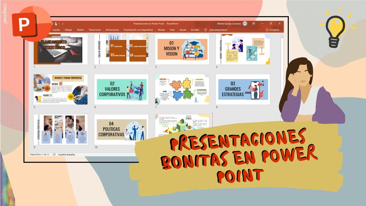 Presentaciones bonitas en Power Point