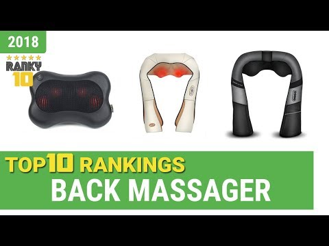 Best Back Massager Top 10 Rankings, Review 2018 & Buying Guide