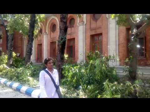 UNOM ,Cyclone in chennai , Effect OF cyclone in University of Madras, chepauk campus!!!!