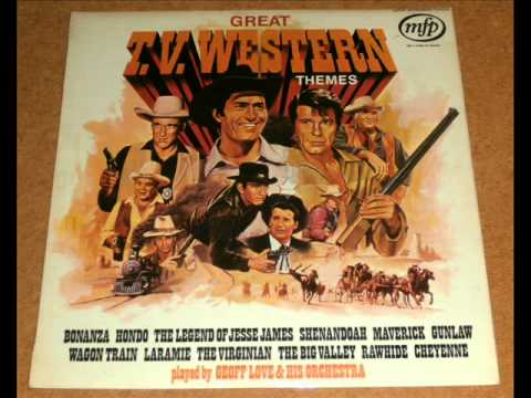 Theme from The Big Valley - Geoff Love & His Orchestra - from Great Western Themes vinyl LP