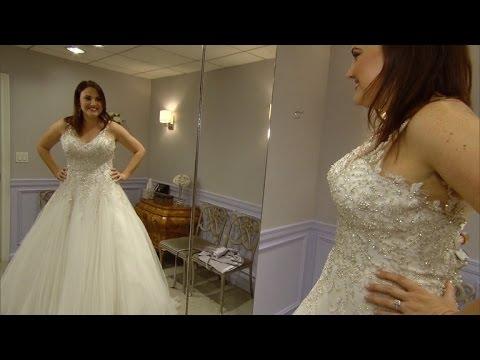 Help Woman Who Reunited with Preschool Sweetheart Pick a Wedding Dress