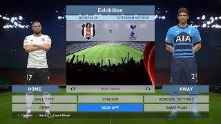 Besiktas JK vs Tottenham Hotspur, BJK Vodafone Park, PES 2016, PRO EVOLUTION SOCCER 2016, Konami