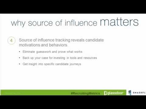 Webinar: The Key Recruitment Metric You're Not Tracking: Source of Influence